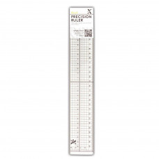 Metal edged précision ruler