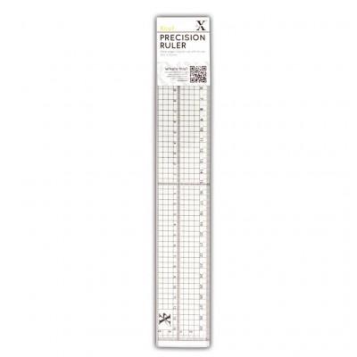 Metal edged précision ruler